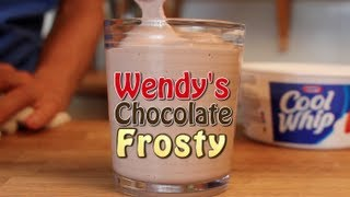 Wendy's Chocolate Frosty - 3 Ingredient Clone Recipe!