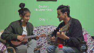 Papa Pugu|| Dixita's Ukulele Class || Sandeep Chhetri And Ani Choying Drolma On Stage For IIMUN