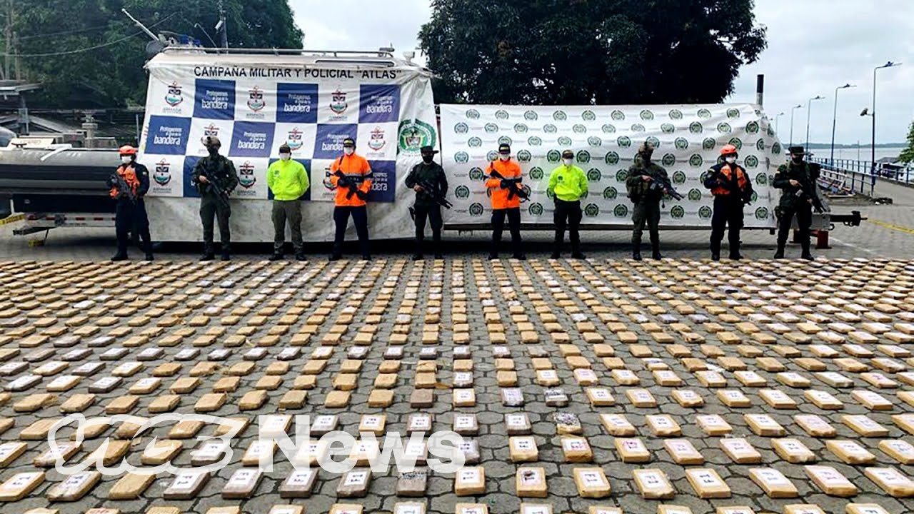 A 'Narco Sub' Filled With $18.6 Million of Cocaine Was Found in Colombia, and Other Drug Crackdowns