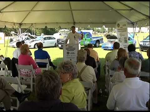 Alternative Fuel Tour:  Leon County Schools Showcases Fleet of CNG Vehicles