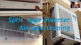 Split Type Inverter Air con Cleaning / Koppel 2.5hp