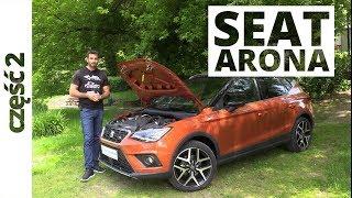 Seat Arona 1.5 TSI 150 KM, 2018 - techniczna część testu