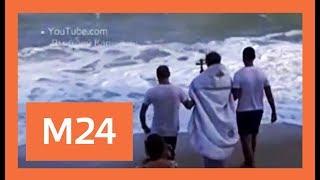 Российские священники окрестят Мировой океан в ночь на 19 января