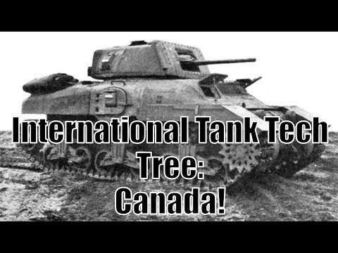 War Thunder: International Tank Tech Tree: Canada