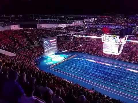 U.S. Swimming fans