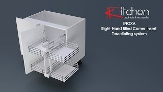 [Components] INOXA Right Hand Blind Corner Insert Tessellating system
