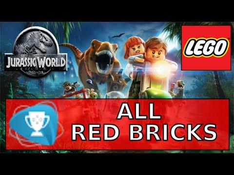 Lego Jurassic World All Red Bricks - One Big Pile of Bricks Trophy