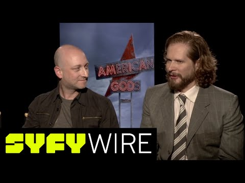American Gods' Neil Gaiman and Bryan Fuller: Book to Screen | SYFY WIRE