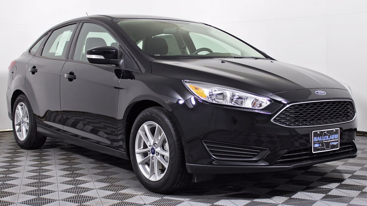 2017 Ford Focus Se 1 0l Ecoboost 6 Sd Manual Sedan At Eau Claire Lincoln Quick Lane