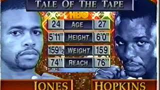 Roy Jones Jr vs Bernard Hopkins