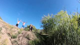 Alpine Utah Bike Jump