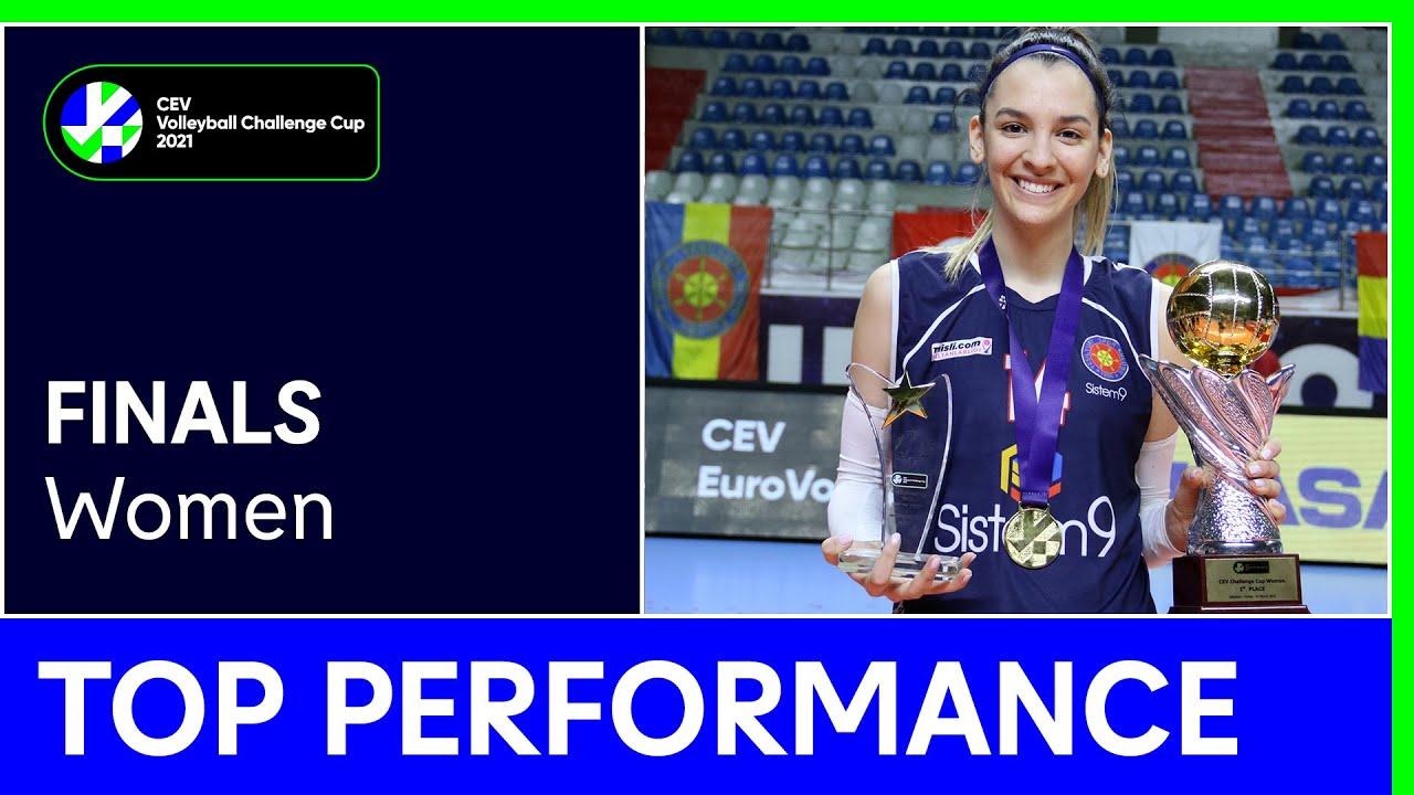 Alexia Carutasu | Top Performance - Finals | #CEVChallengeCupW