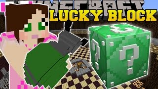 Minecraft: EMERALD LUCKY BLOCK EXPLOSIVES CHALLENGE GAMES - Lucky Block Mod - Modded Mini-Game