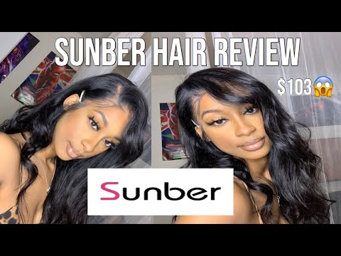 AFFORDABLE AMAZON STRAIGHT HAIR | ft. Sunber Hair review