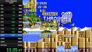 Sonic Megamix - Sonic Any% Speedrun in 20:03 [Current World Record]