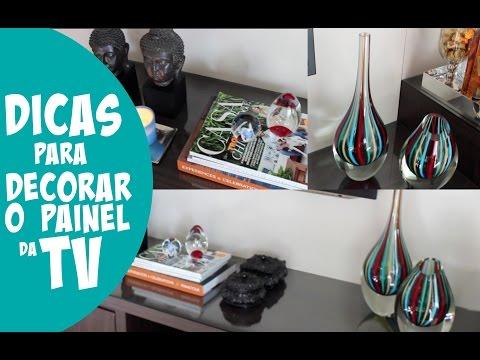 COMO DECORAR O PAINEL DA SALA DE TV - DICAS E TRUQUES DE DECORAÇÃO