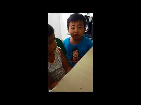 KIDS GROWING UP - 2 kids Bday Greetings from iloilo to Dubai on July 24, 2017