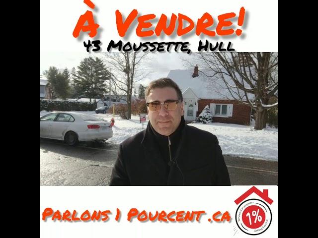 A vendre maison 43 Moussette par michaellederman.ca Hull