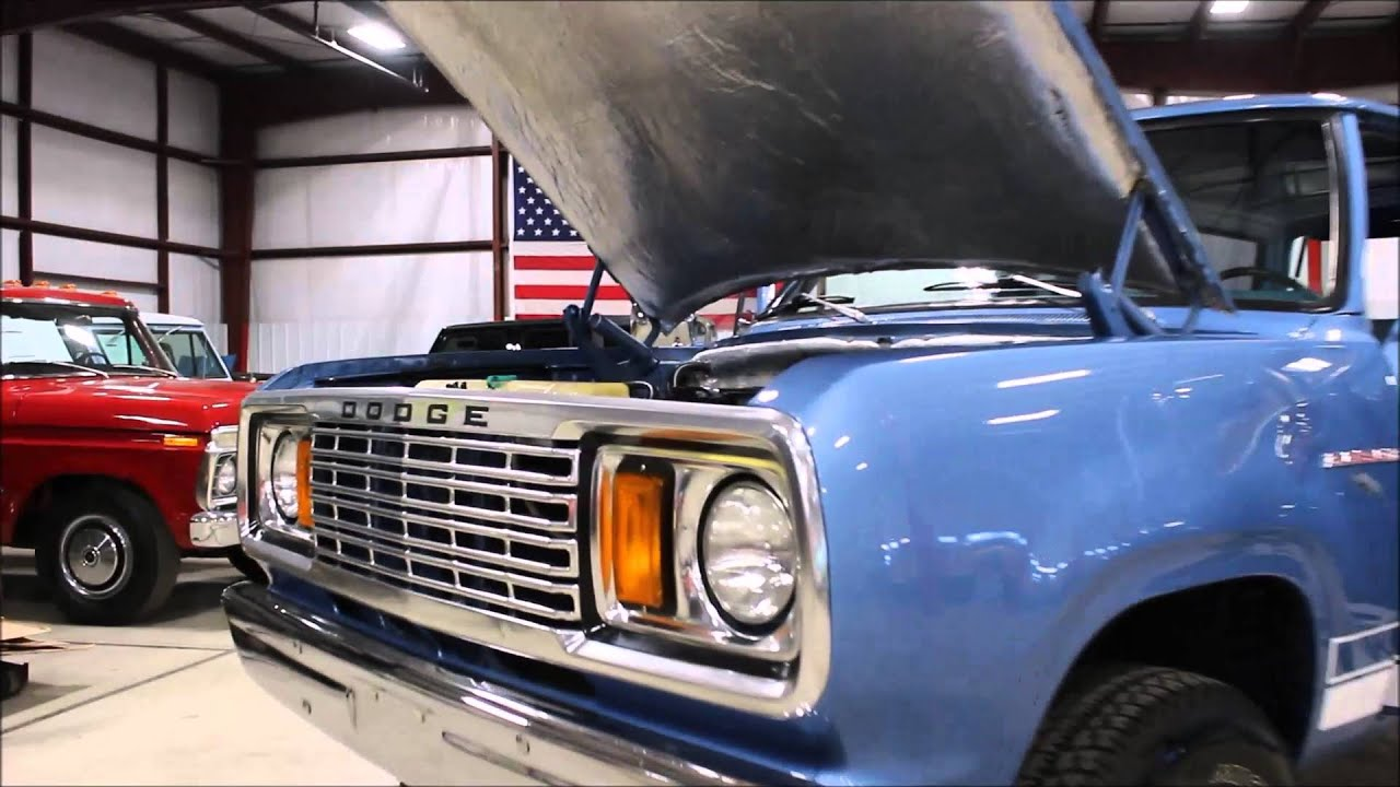 1978 Dodge Ram Charger - YouTube