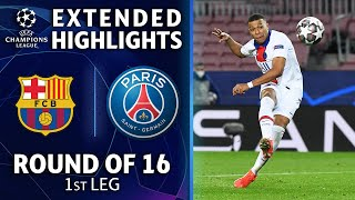 Barcelona vs. Paris Saint-Germain: Extended Highlights | UCL on CBS Sports
