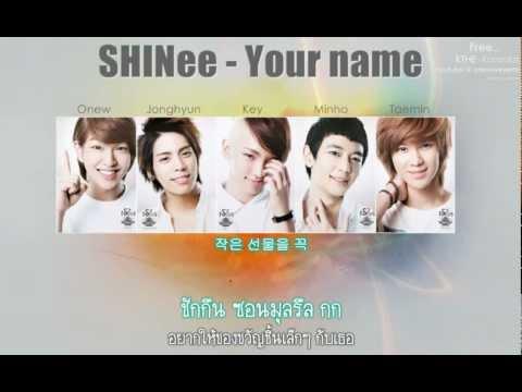 [Tran-Thaisub]: SHINee - Your name
