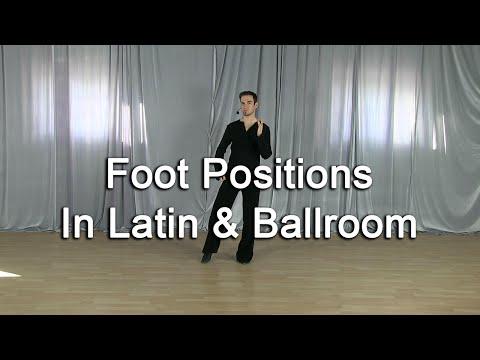 Footwork Positions in Ballroom & Latin dancing