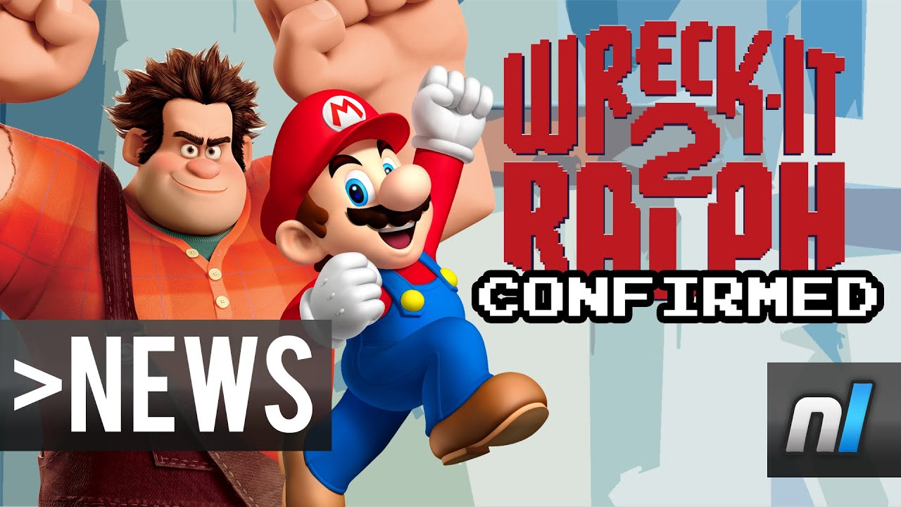 WreckIt Ralph 2 Confirmed by John C Reilly  Will Mario Be in It