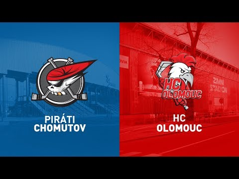 33. Kolo O Pohár DHL: Piráti Chomutov Vs HC Olomouc