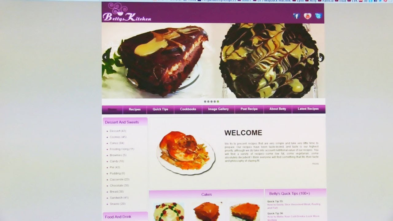 Betty\'s Launch of the Betty\'s Kitchen Website - YouTube