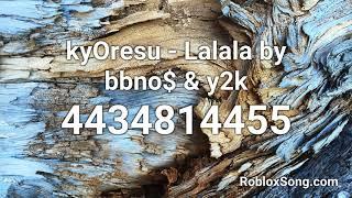 Lalala Roblox Code