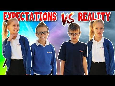 Thumbnail: School Morning Routine EXPECTATIONS vs REALITY