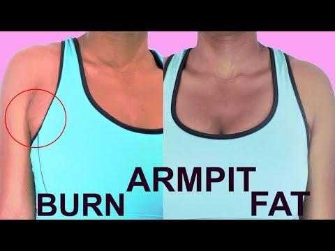 DO this 5 easy exercises to get rid of ARMPIT FAT| effective moves to burn armpit fat at home