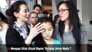 Angie & Reza Rayakan Ultah Aaliyah Massaid