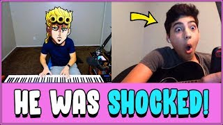 i played GIORNO'S THEME on Omegle