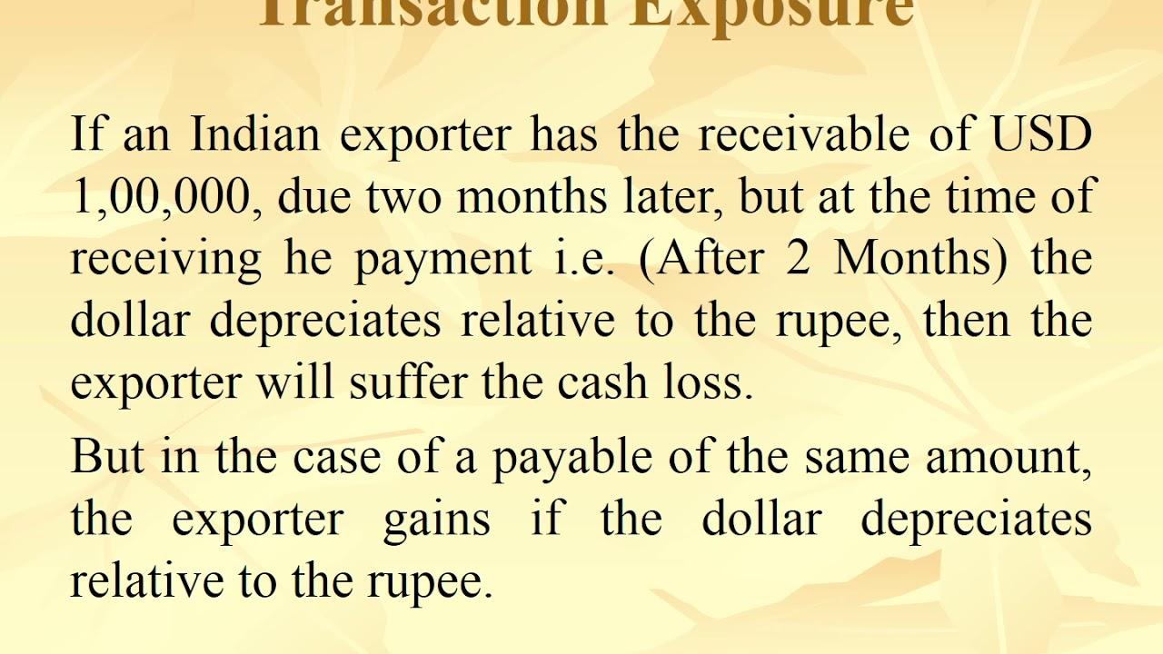 Download Transaction Exposure