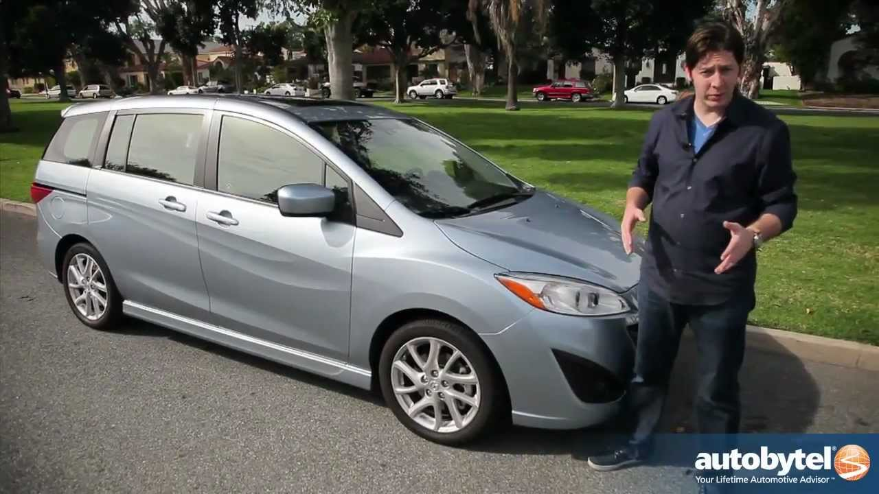 2012 Mazda5 Test Drive & Car Review - YouTube