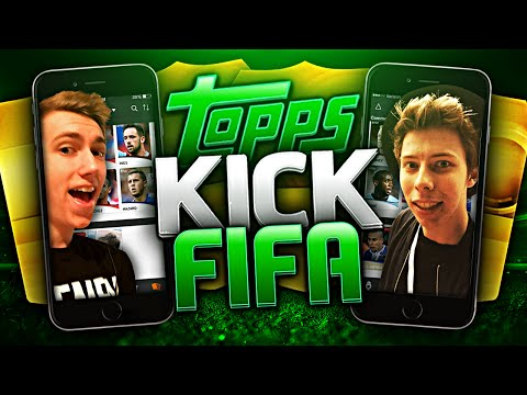 TOPPS KICK CHALLENGE - FIFA 15 With Cal