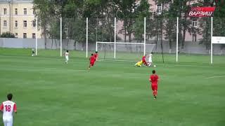 Таджикистан (U-17) - Кыргызстан (U-17). Мемориал Гранаткина. Обзор матча (07.06.2019)