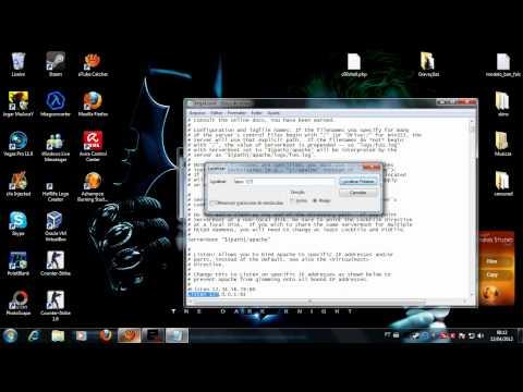Erro easyPHP 5.3.9 [ #RESOLVIDO]