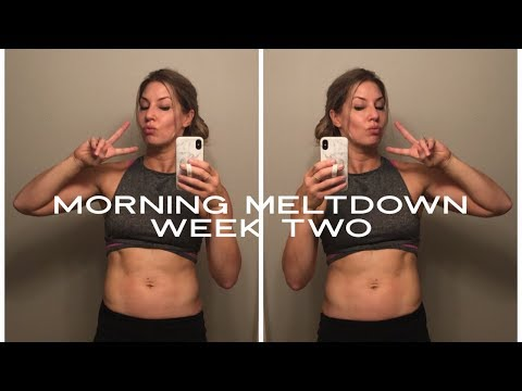 morning-meltdown-100-review-week-2!-lose-weight-fast!