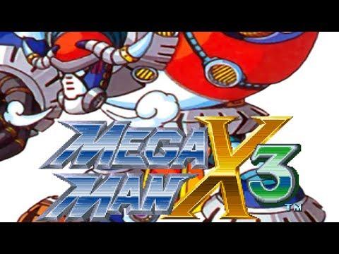 Mega Man X3 - Frozen City (Leg Part + Heart Tank  + energy tank + Frost Shield)