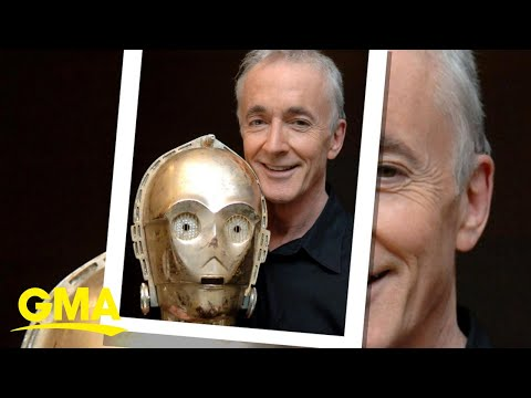 Anthony Daniels opens up about his iconic role as C-3PO l GMA ...