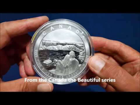 New Additions of Canada the Great Silver and Perth  Gold from Bullion Exchanges