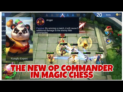 ABE THE NEW OP COMMANDER | ADDITIONAL 5 DAMAGE EVERY WIN - MAGIC CHESS
