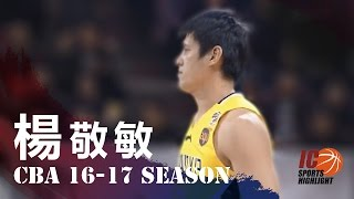 Yang Chin Ming 楊敬敏 Full highlights 2016.12.30 vs 八一 - 17 Pts, 4 Rebs