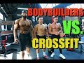 BODYBUILDERS VS. CROSSFIT! (I THREW UP)   Ft. Obi Vincent & Zac Perna