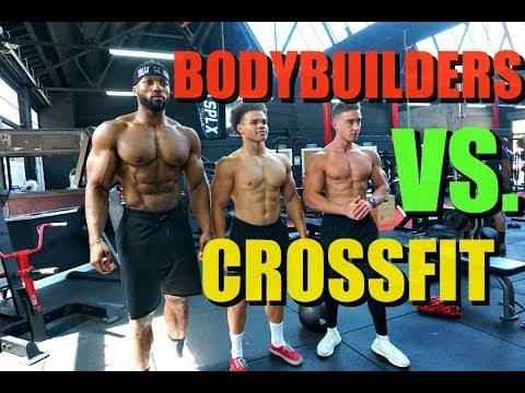 BODYBUILDERS VS. CROSSFIT! (I THREW UP) | Ft. Obi Vincent & Zac Perna