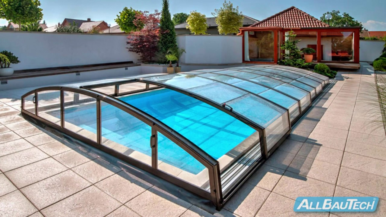 Casablanca Infinity Schwimmbecken Überdachung Montage Swimming Pool  Enclosure Assembling