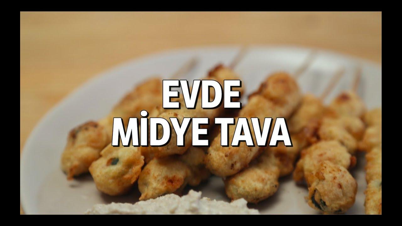 Tavada Tavuk Midye Tarifi
