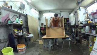 Оптимизация пространства. Делаем стол-трансформер.(В этом видео, я сделаю из обычного стола из ДСП — верстак, который при желании можно сложить, сделав его..., 2014-12-03T20:21:15.000Z)